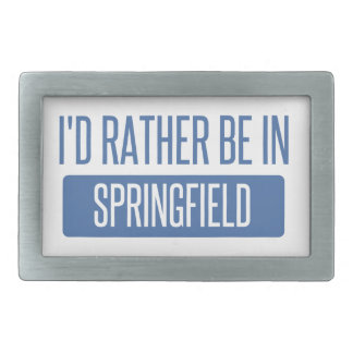 Springfield OH Belt Buckle