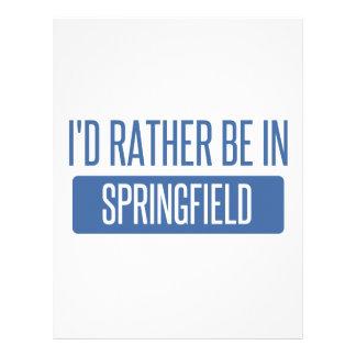 Springfield OH Letterhead