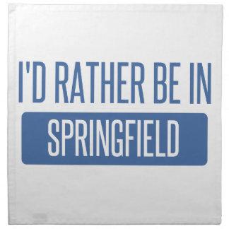 Springfield OR Napkin