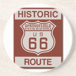 Springfield Route 66 Drink Coasters