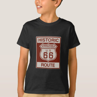 Springfield Route 66 T-Shirt