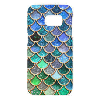 Springlike multicolor Glitter Mermaid Scales Samsung Galaxy S7 Case