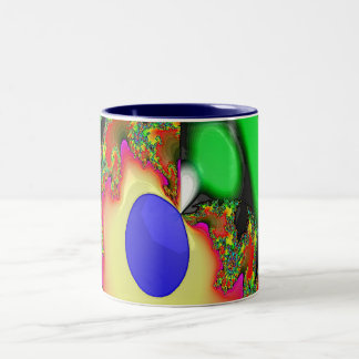 Springtime across the land Two-Tone coffee mug