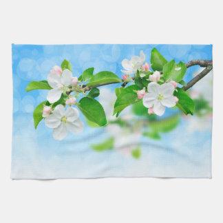 Springtime (apple flowers) kitchen towel