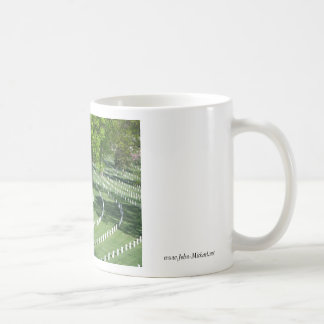 Springtime at  Arlington National Cemetery Coffee Mug