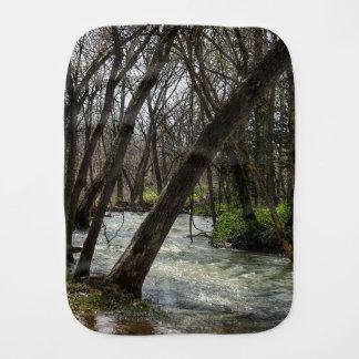 Springtime At Finley River Burp Cloth