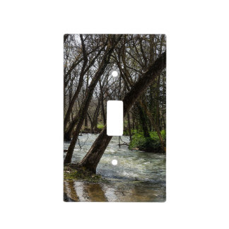 Springtime At Finley River Light Switch Cover