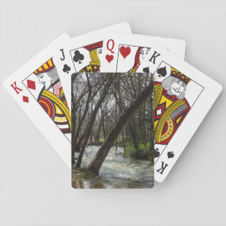 Springtime At Finley River Playing Cards