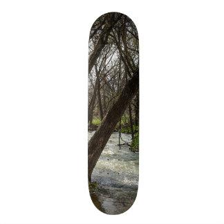 Springtime At Finley River Skate Deck