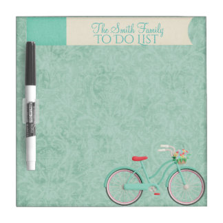 Springtime Bicycle Ride Whiteboard