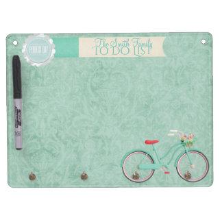 Springtime Bicycle Ride Whiteboard & Key chain...