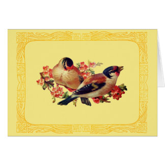 Springtime Birds Card