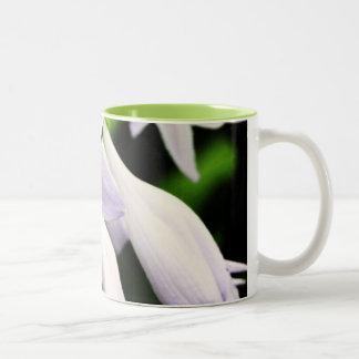 Springtime Blooms Two-Tone Coffee Mug
