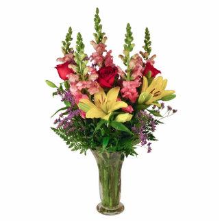 Springtime Bouquet Standing Photo Sculpture