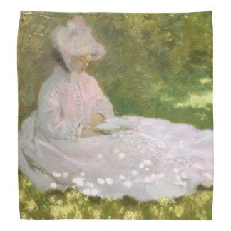Springtime by Claude Monet Bandana