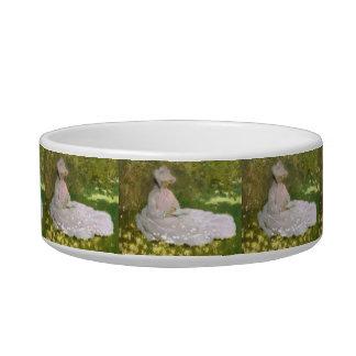Springtime by Claude Monet Bowl
