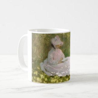 Springtime by Claude Monet Coffee Mug