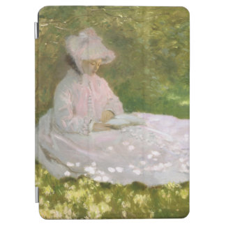 Springtime by Claude Monet iPad Air Cover