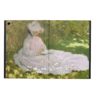 Springtime by Claude Monet iPad Air Cover