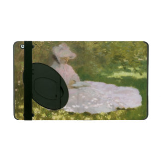 Springtime by Claude Monet iPad Folio Case