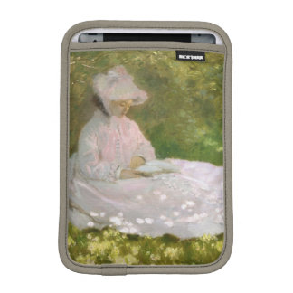 Springtime by Claude Monet iPad Mini Sleeve