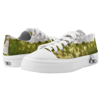 Springtime by Claude Monet Low-Top Sneakers