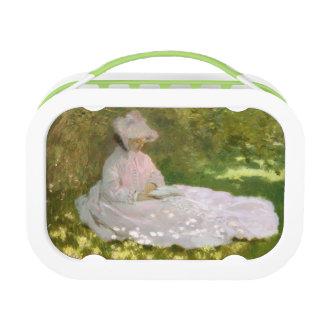 Springtime by Claude Monet Lunch Box