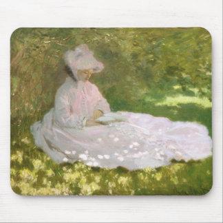 Springtime by Claude Monet Mouse Pad