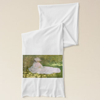 Springtime by Claude Monet Scarf