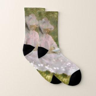 Springtime by Claude Monet Socks