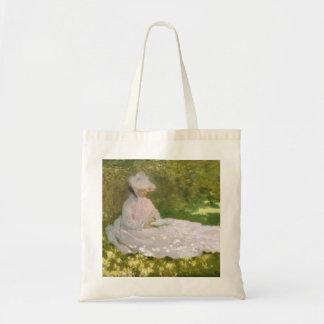 Springtime by Claude Monet Tote Bag