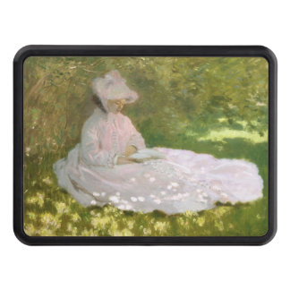 Springtime by Claude Monet Trailer Hitch Cover
