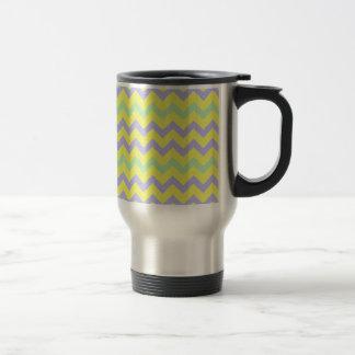 Springtime Chevron Zigzag Travel Mug