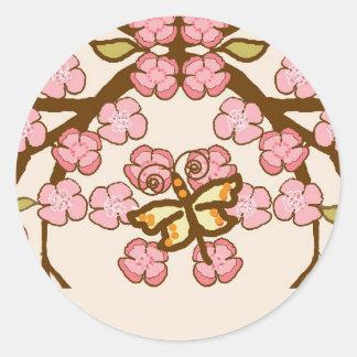 Springtime Classic Round Sticker