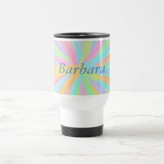 Springtime Colors with Your Name Travel Mug