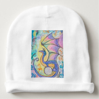Springtime Dragon Baby Beanie