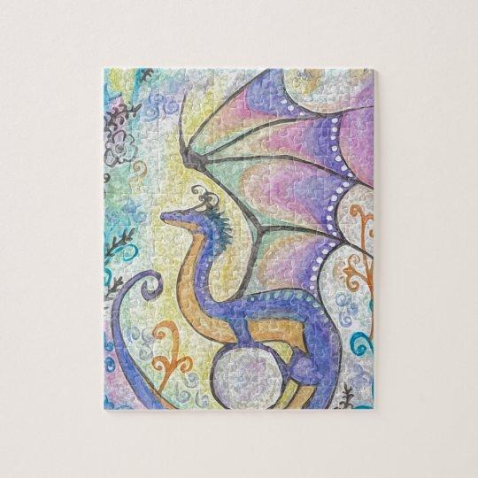 Springtime Dragon Jigsaw Puzzle