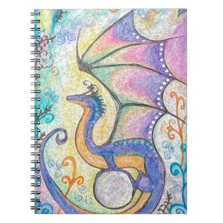 Springtime Dragon Notebooks