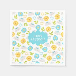 Springtime Floral  Passover Sedar Paper Napkins