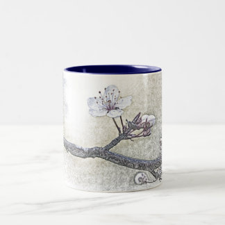 Springtime Herald of the Forest Two-Tone Coffee Mug