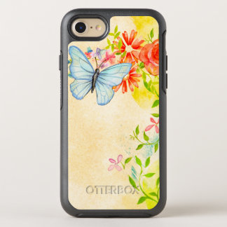 Springtime Illustration OtterBox Symmetry iPhone 8/7 Case