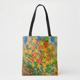 Springtime Oil (Color Pop) Tote Bag