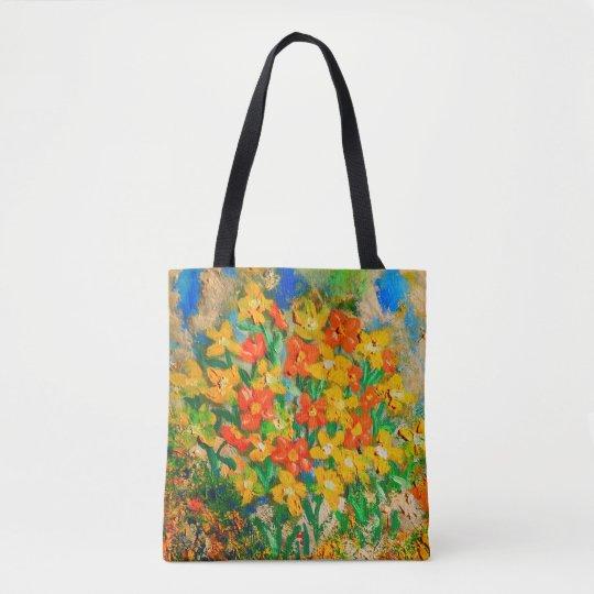 Springtime Oil (Color Pop) Tote Bag
