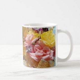 Springtime Pink & Yellow Classic Mugs