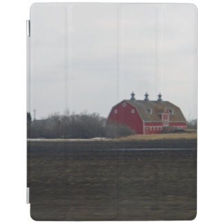 Springtime Red Barn iPad Cover
