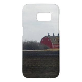 Springtime Red Barn Samsung Galaxy S7 Case