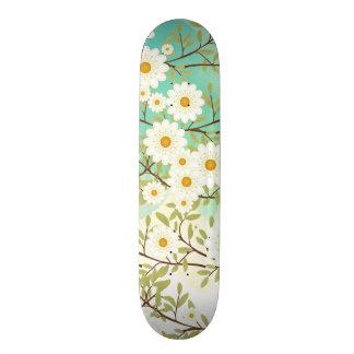 Springtime scene skate board decks