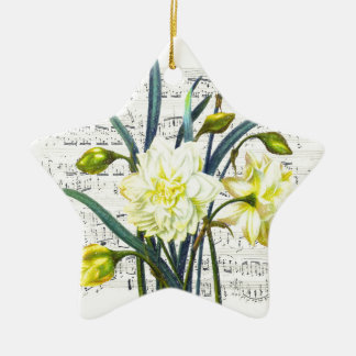 Springtime Song Ceramic Ornament