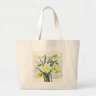 Springtime Song Large Tote Bag