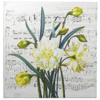 Springtime Song Napkin